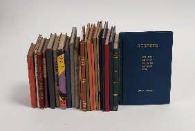 Group Of 26 Hardbound Small-format Magic Books