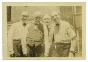 Photograph Of Houdini, Downs, Ducrot Ca. 1926