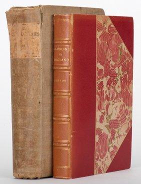 Ashton, John. Two Antiquarian Volumes On Gambling In