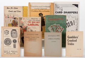 [cheating And Expos] Group Of 12 Vintage Booklets On