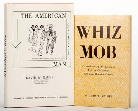 Maurer, David W. Lot Of Two Books. Including Whiz Mob