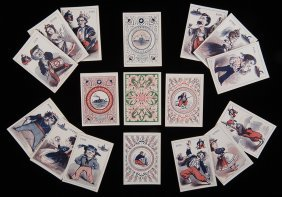 A. Dougherty Army & Navy Civil War Playing Cards. The