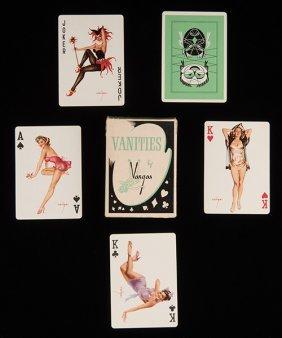 Western World Playing Card Co. Alberto Vargas Vanities