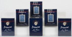 Six Decks Uspc Aristocrat 727 Playing Cards.