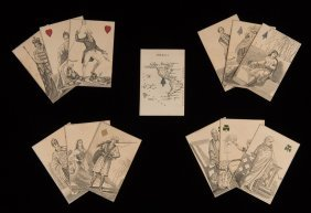 Charles Hodges Geographical Playing Cards. London: