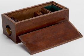 Geo. Mason & Co. Faro Card Press And Dealing Box