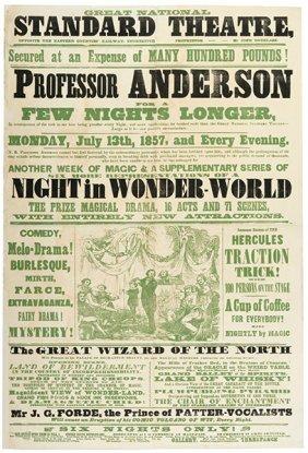 Anderson, Professor. (john Henry Anderson) Professor