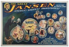 Jansen, Harry. The Great Jansen. America's Greatest