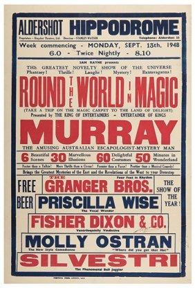 Murray, George. Round The World In Magic. Murray.