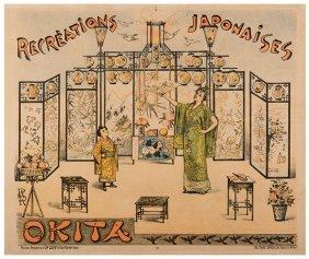 Okita (julia Ferret De Vere). Recreations Japonaises.