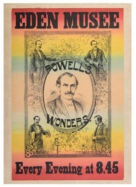 Powell, Frederick Eugene. Eden Muse. Powell's Wonders.