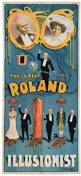 Roland (eduard Krause). The Great Roland Illusionist.