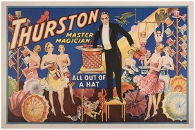 Thurston, Howard. Thurston Master Magician. All Out Of