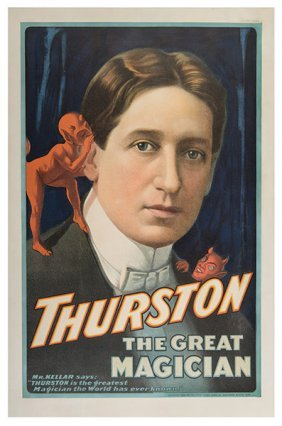 Thurston, Howard. Thurston The Great Magician.