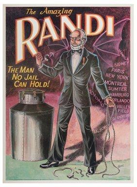 Randi, James (james Randall Zwinge). The Amazing Randi.