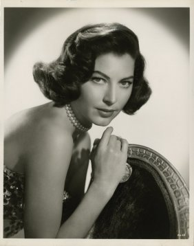 Ava Gardner Key-set Portraits By Virgil Apger