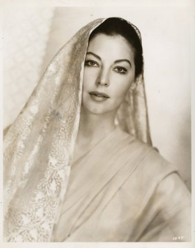 Ava Gardner Key-set Portraits From Bhowani Junction