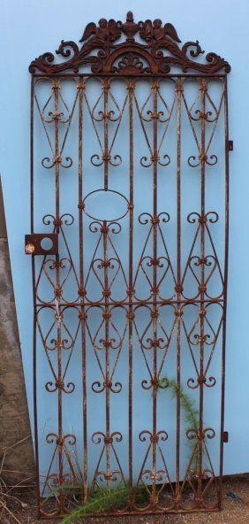 Ornate Cast Iron Gate