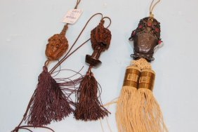 Three Chinese Tassels