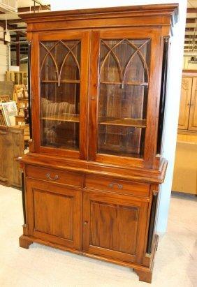 Mahogany Regency Display Cabinet