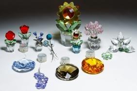 Swarovski Crystal Flower Figurine Assortment