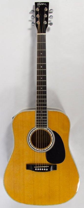 elezan model al 100 electric acoustic guitar lot 741. Black Bedroom Furniture Sets. Home Design Ideas