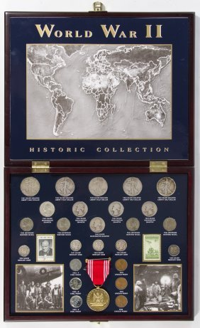 World War Ii Historic Coin Collection Lot 107