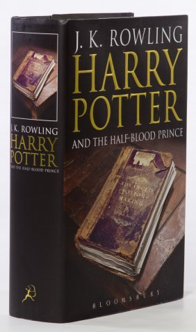 J K Rowling Harry Potter And The Half Blood Prince