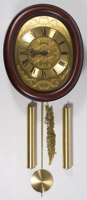 German Wall Clock By Schmeckenbecher Lot 591