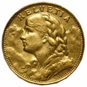 France: 1927-b 20 Franc Gold
