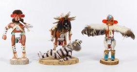 Kachina Carved Wood Dolls