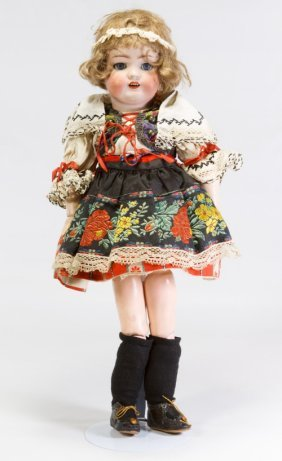 Simon And Halbig 1078 Antique German Bisque Doll