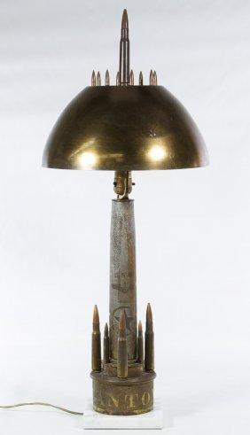 Trench Art Lamp