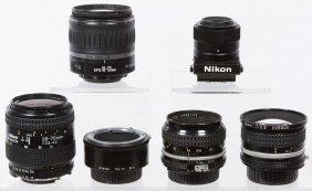 Nikon Camera Lens Assortment
