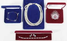 Camrose & Kross 'jackie Kennedy' Costume Jewelry