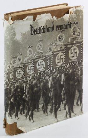 1933 'deutschland Erwacht Der Nsdap' Cigarette Card