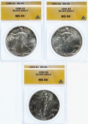 Silver Eagle $1 Assortment
