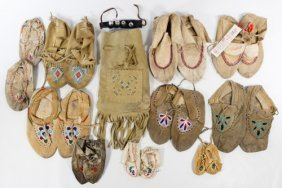 Native American Moccasin Assortment