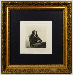 (after) Rembrandt Von Rijn (dutch, 1606-1669) 'artist's