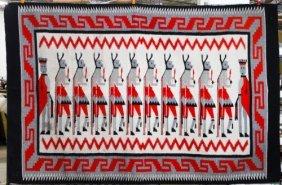 Navajo Native American Wool Rug