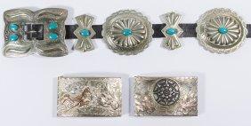 Navajo Native American Concho Belt