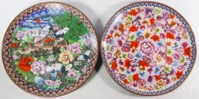 Asian Cloisonne Chargers