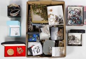 Rhinestone And Austrian Crystal Jewelry Assortment