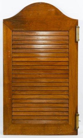 Swinging Wood Door
