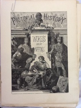 A PICTORIAL HISTORY OF THE WORLDS GREAT NATIONS, F
