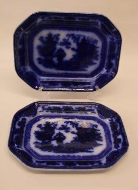 Pr. Flow Blue Platters