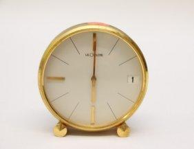 Le Coultre Table Clock
