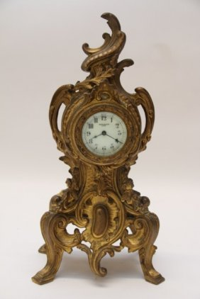 Art Nouveau New Haven Mantle Clock