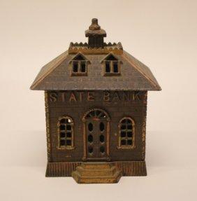 Cast Iron Still Bank