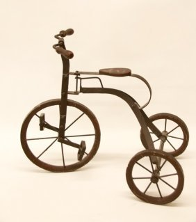 Handmade Antique Toy Tricycle